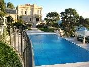 Luxury villa with a park and swimming pools  for rent Roquebrune Cap Martin, France