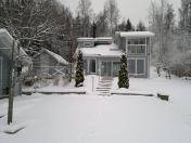 MODERN HOUSE ON THE LAKESIDE & LAND PLOT FOR SALE NEAR LAHTI, FINLAND