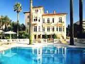 LUXURY VILLA WITH SWIMMING POOL RENT CANNES FRANCE