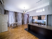 Stylish author's design 4-room apartment for rent at 6, Smolny prospekt Saint-Petersburg