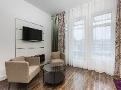 Modern style 3-room apartment for rent at 26, 11th line of Vasilievsky Island Saint-Petersburg