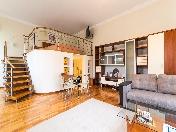 Стильная квартира-студия в аренду в двух шагах от Эрмитажа Миллионная ул. 38 СПБ