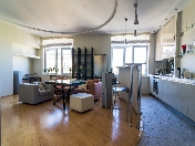 Stylish  2-room apartment for rent in the elite house at 27, 5th Sovetskaya Street St-Petersburg