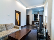 Stylish 2-room apartment for rent at 8, Petrovskaya embankment St-Petersburg