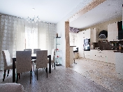 Modern style 3-room apartment for rent at 11, Lunacharskogo prospekt St-Petersburg