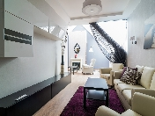 Stylish 3-room apartment with a terrace for rent at 123, Ligovsky prospect Saint-Petersburg