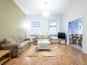 Rent modern 3-room apartment at 1, Malaya Konushennaya Street Saint-Petersburg