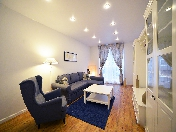 Author's design 2-room apartment to let new house 11, Kremenchugskaya Str. St-Petersburg