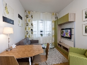Rent modern 3-room apartment elite residential complex 12, Fermskoe shosse Saint-Petersburg