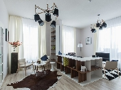 3-room apartment with great view and parking rental 108, Obvodny emb. St-Petersburg