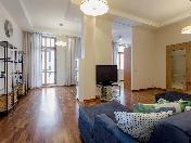 Стильная 4-комнатная квартиры в аренду элитный дом Морской пр-т 33 С-Петербург