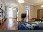 Stylish 4-room apartment to let elite house at 33, Morskoy prospect Saint-Petersburg
