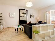 Снять современную 3-комнатную квартиру с балконом на Обводном к., 108, СПБ