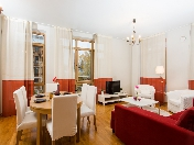 Rent modern 3-room apartment with a balcony at 5, Graftio str., Saint-Petersburg