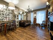 Rent author's design 2-room apartment at 88, Nevsky prospect Saint-Petersburg