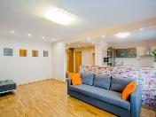 Rent modern 3-room apartment new house at 13, V. Vishnevskogo Str. Saint-Petersburg