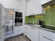 Rent modern 1-room apartment new house with parking 18, Detskaya Str. St-Petersburg