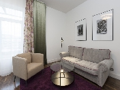 Stylish 3-room apartment with parking for rent at 26, 11th Line of V.O.St-Petersburg