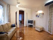 Spacious 3-room apartment rental new house Vasilevsky island St-Petersburg