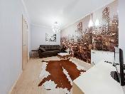 Rent modern style 3-room apartment at 3, B. Konushennaya Str. St-Petersburg