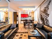 Видовая стильная 3-комнатная квартира в аренду ул. Кораблестроителей 30 С-Петербург