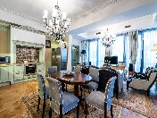 Rent exclusive author's design 3-room apartment Krestovsky island Saint-Petersburg