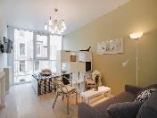 Rent stylish 1-room apartment new house 123, Ligovsky prospect SPB