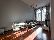 Water view stylish 2-room apartment for rent at 33, Griboedova Emb. St-Petersburg