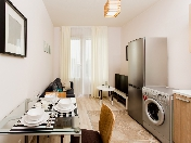 Rent 1-room apartment with a balcony new complex 108 Obvodny Ch. Emb. St. Petersburg