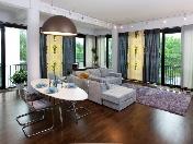 Аренда просторной 3-комнатной квартиры в элитном жк, наб. Мартынова, 74, СПБ