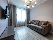 Rent stylish modern 2-room apartment 110, Obuhovskoy Oborony pr., Saint-Petersburg
