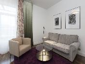 Современная 3-комнатная квартира с балконами в аренду на 11-й Линии В.О. 26 СПБ