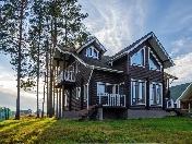 "Buy cottage with land plat countryside village ""Tuoksa"" Hittolovo, Leningrad region"