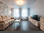 "Rent author's design 3-room apartment new complex ""Tsarskaya Stolica"" Saint-Petersburg"