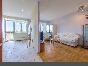 Stylish 2-room apartment with view and terrace to let at 1 Troitskaya Square Saint-Petersburg