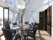 Аренда дизайнерской 4-комнатной квартиры с панорамной террасой В. О. С-Петербург
