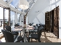 Lease author's design 4-room apartment with panoramic terrace Vasilevsky island St-Petersburg