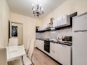 Bright stylish 1-room apartment to let at 5 Beringa Street Vasilevsky island Saint-Petersburg