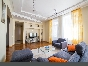 Modern 4-room apartment with a balcony for rent at 33 Zakharievskaya Str. Saint-Petersburg
