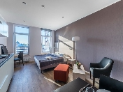 Stylish studio-apartment rental in a modern house at 7, Akademika Pavlova Str. Saint-Petersburg