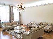Water view modern 5-room apartment rental at 64, Moika River Embankment St-Petersburg