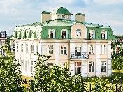 "3-storey mansion for sale elite complex ""Severny Versale"" at 29/2 Novaya str. Saint-Petersburg"