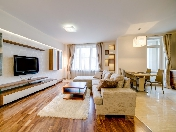 "Modern style 3-room apartment for lease in the elite complex ""Alexandria"" Saint-Petersburg"
