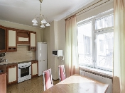 Modern style 1-room apartment to let in an elite complex at 26, Kuibisheva Str. Saint-Petersburg