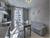 "Author's design 1-room apartment to let modern complex ""Tsarskaya Stolica"" St-Petersburg"