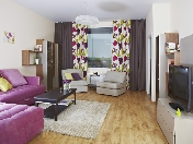 "Stylish 3-room apartment to let elite complex ""Oriental"" 12, Barochnaya Str. St-Petersburg"