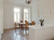 Author's design 5-room apartment for lease at 9, Bolshoy Kazachy Lane Saint-Petersburg