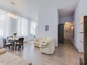 Modern design 2-room apartment for lease at 9, Rubinshteina Street Saint-Petersburg