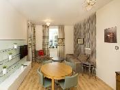 "Modern style 3-room apartment for lease elite RC ""Oriental"" 12, Barochnaya Str. St-Petersburg"