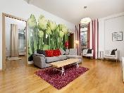 Modern design 3-room apartment for rent at 5, Graftio Street Saint-Petersburg